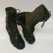Vintage 1982 Us Military Wellco Ro-Search Green/Black Men's sz 6.5R Combat Boots