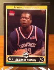 2006-07 Topps Black Denham Brown RC #'d/99