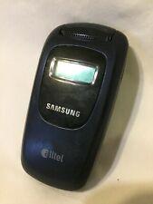 Samsung Alltel Model A645 Blue Flip Phone For Parts