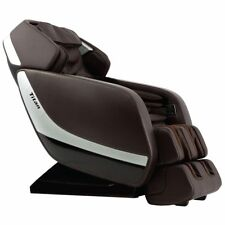 Titan Pro Jupiter XL Large Zero Gravity Massage Recliner Chair L-Track Brown