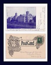 MICHIGAN MT PLEASANT CENTRAL STATE NORMAL 1905 TO MISS MARGARET MARSH, KEENE, NH