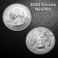 2020 Corona Quarter and Bats on reverse side. - Hobo Nickel