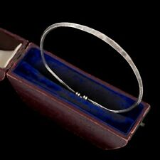 Antique Vintage Deco Mid Century Sterling Silver Danish Style Modernist Bracelet
