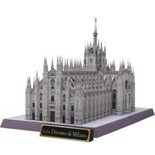 3D Model DIY Italy Milan Cathedral Craft Paper Architectural Building Puzzle
