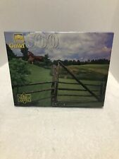 Golden Guild 500 Piece Puzzle New Factory Sealed. Near Craftsberry VT Vintage