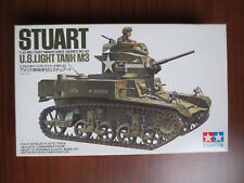 "Stuart US Light Tank M3 Tamiya 35042 + Conversion ""Honey"" Verlinden 725  1/35"