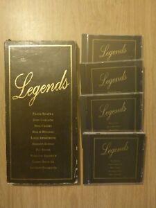 Legends 4 CD Set 1995 (Various Artists Frank Sinatra/Judy Garland + More)