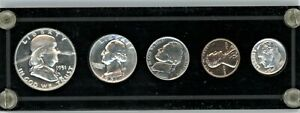 1951 MINT SILVER SET of U.S. COINS 5