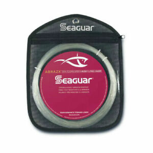Seaguar Abrazx Fluorocarbon Clear Leader Fishing Line 130# 25 Yards Test 130AX25