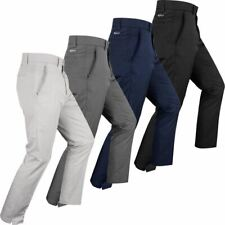 Greg Norman Golf Mens Hybrid Modern Tapered Fit Pro Stretch Golf Trousers