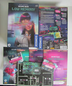 Kosmos:  Escape Tales - LOW MEMORY - unbespielt Neuwertig (L3)