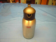 OGGI Stainless Steel  with a Black Handle/ Top Four Cup Coffee Carafe