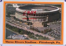 HELICOPTER VIEW THREE RIVERS STADIUM,STEELER FOOTBALL-PITTSBURGH,PA 1987