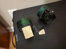 Vintage Johnson Century 100 A Spincast Reel & Mustang 503 Spincast Reel-Working