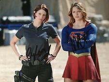Supergirl Melissa Benoist & Chyler Leigh original handsignierte Autogramme
