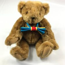 Vintage Authentic Hand Made Vermont Teddy Bear Brown Movable Arms Legs