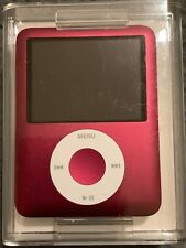 OPEN BOX Apple iPod Nano 3rd Generation 8GB A1236 PRODUCT RED MB257LL/A