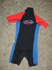 Stearns Wet Suit Size Medium Excellent Condition Women's/Youth-Black/Red/Blue