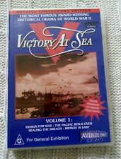 Victory At Sea : Vol 1 (DVD, 2003) REGION-ALL, LIKE NEW, FREE POST IN ASUTRALIA