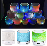 Mini Bluetooth Speaker Portable Wireless Stereo Bass for PC iOS Smartphone MP3