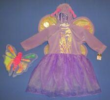 Butterfly Fairy Princess plush Costume dress,Girls 2-4T-NWT-Ty Beanie-NWOT-LOT