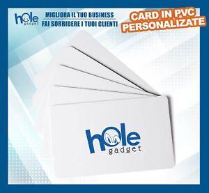 Tessere in PVC card personalizzata badge business stampa biglietti da visita