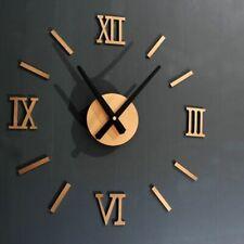 45X45cm 3D Watch Acrylic Mirrored Digital Wall Clock Living Room Modern Design