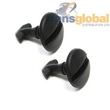 Land Rover Discovery 3 Bumper Towing Eye Cover Clips Black Screws x2 - Bearmach