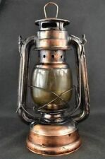 Chinese Collectibles Old Decorated Handwork Copper Glass Usable Oil Lamp d01