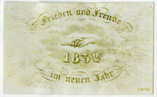 Antique Print-GENRE-NEW YEAR'S WISH-GERMANY-Anonymous-1832