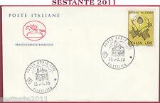ITALIA FDC CAVALLINO SCHIO VI ANDREA PALLADIO 1990 ANNULLO T133