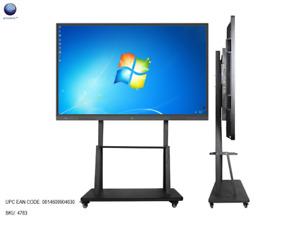 100 Inch  4K Ultra-HD OPS LCD Multimedia TouchAIO PC IWB, Dual-OS, TV