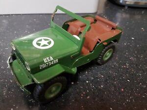 Vintage Metal Willys Jeep Toy