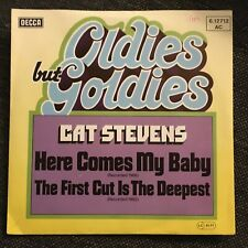 7'Cat Stevens >Here comes my Baby/The first cut...< 60's GOLD/OLDIES BUT GOLDIES