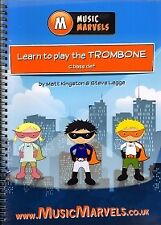 MUSIC MARVELS Learn to Play the Trombone C bass cl