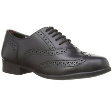 Hush Puppies Girls Kada Smart Polished Leather Brogue School Shoes UK 4 018471364378