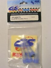 GS RACING #GS-34002TBL SILICONE 1:8 SCALE SHOCK BOOT(4) BLUE: R/C BUGGY MODELS