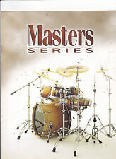 VINTAGE MUSICAL INSTRUMENT CATALOG #10573 - PEARL DRUMS - MASTER SERIES