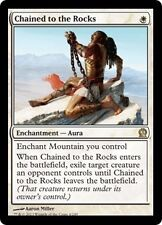 MTG MAGIC THEROS CHAINED TO THE ROCKS (NM) FRENCH ENCHAINE AUX ROCHERS