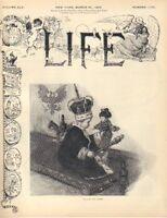 1905 Life (3-30) Japan won't negotiate for peace; Teddy