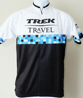 Supercool Vintage TREK CYCLING JERSEY! Mens Brontrager Small Half Zip Travel S