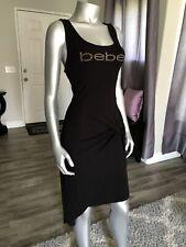 NWT bebe Logo Twist  Dress SIZE XL Sexy  dress, 😍