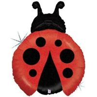 "27"" Betallic Ladybug Mylar Foil Balloon Party Decorating Supplies"