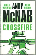 3 ANDY MCNAB BOOKS/2 HB+1 PB/1st EDITIONS/LIBERATION DAY/CROSSFIRE/DARK WINTER