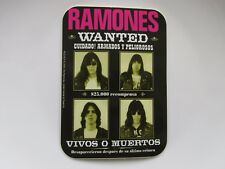 Ramones Wanted Vinyl Sticker Official Band Merch Pyramid Ps3142t