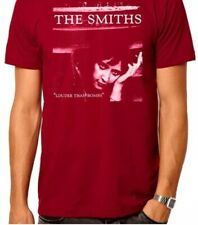 """The Smiths ' Louder Than Bombs ' Red Tee Shirt Size M Chest 40"""" Unisex"""