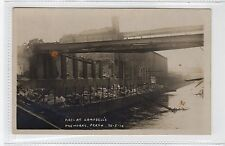 FIRE AT CAMPBELL'S DYE WORKS, PERTH: Perthshire postcard (C28384)