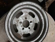Vintage Chrome Slotted Wheel 14x7 Deep Dish Unilug new other