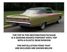 PLYMOUTH FURY iii & SPORTS FURY CONVERTIBLE TOP DO IT YOURSELF PACKAGE 1967-1968