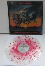 Jag Panzer Ample Destruction Splatter Vinyl LP Record new